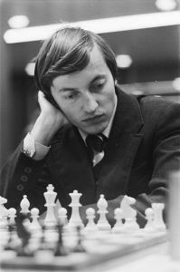 Karpov in 1977 (one of the greatest chess players ever)