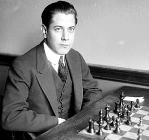 Capablanca, one of the best chess players ever