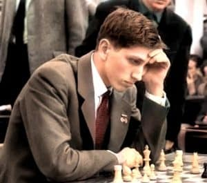 Bobby Fischer, widely regarded as the top chess player of all time.