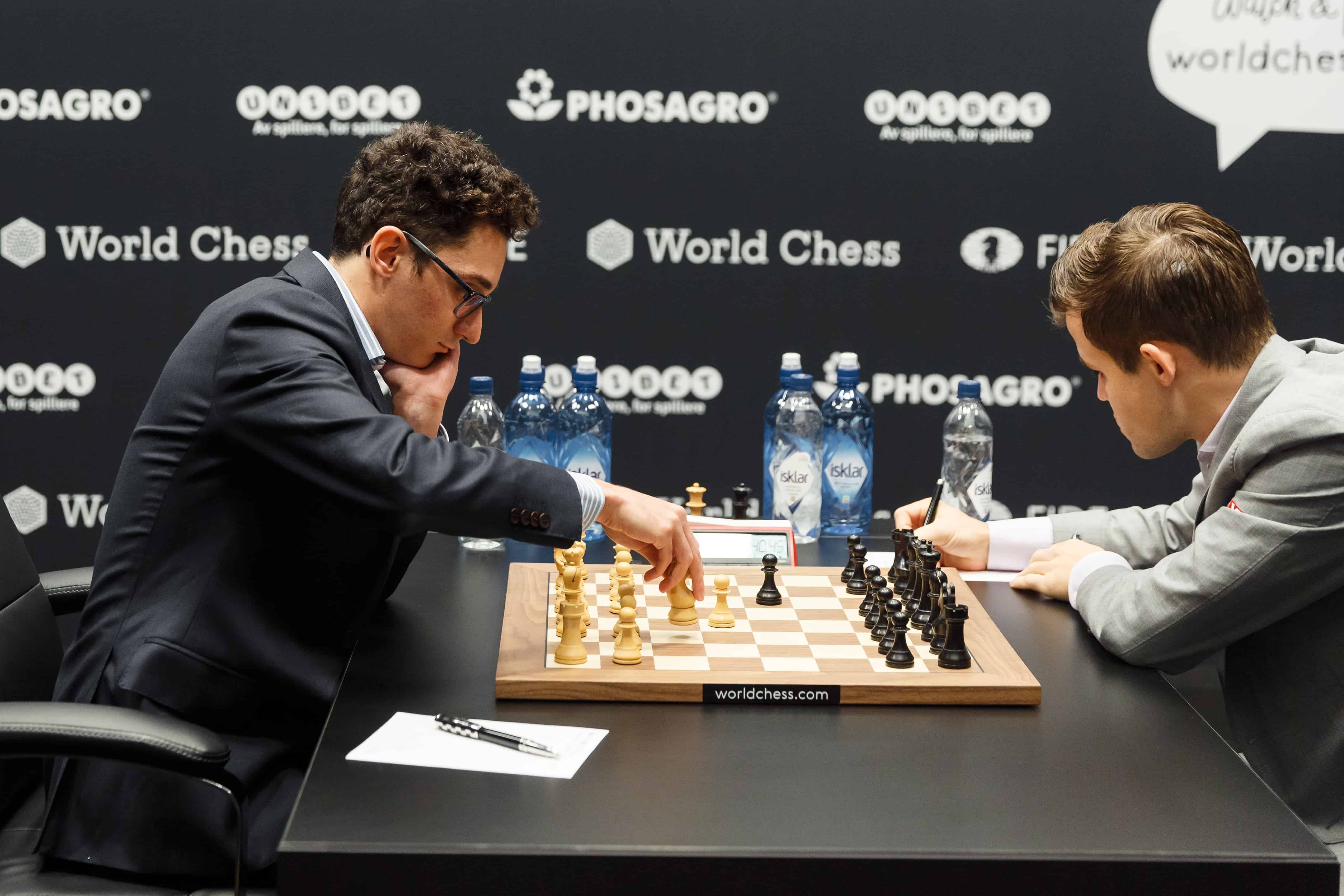 Fabiano Caruana net worth will be boosted if he wins the World Chess Championship