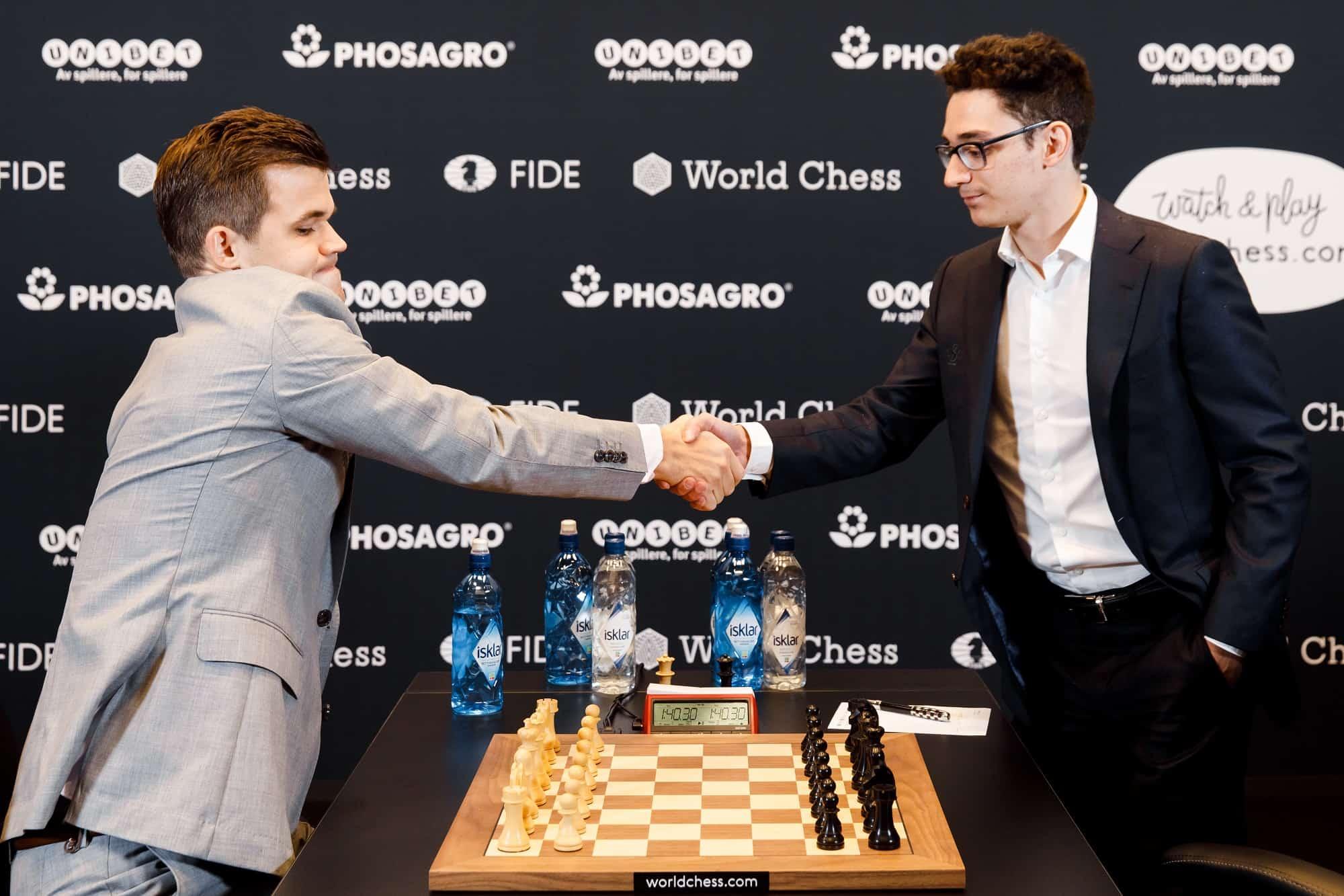 Carlsen-Caruana Game 2