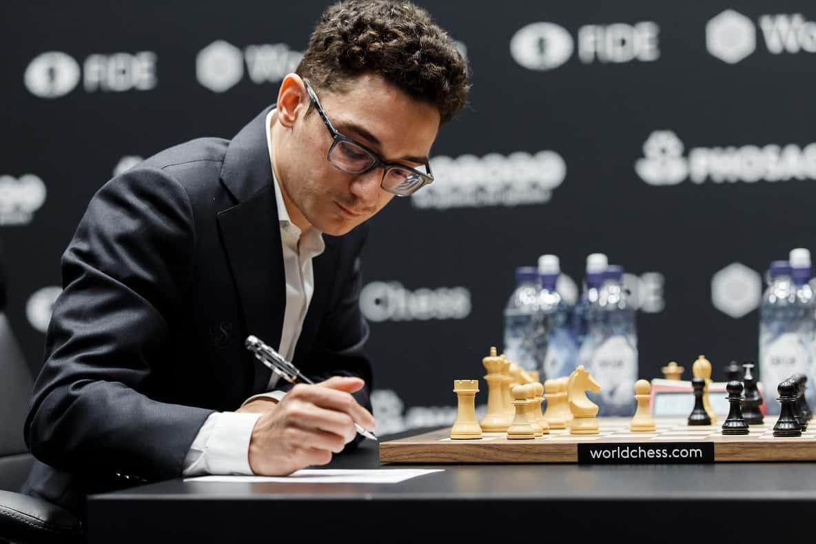 Carlsen-Caruana Game 3: a bore draw