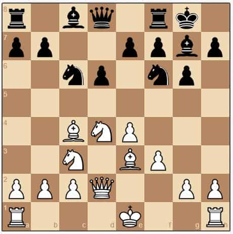 The Yugoslav Attack against the Dragon (white opening chess moves)