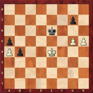Opposition in the pawn ending