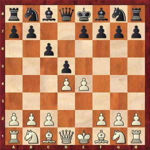 Challenging the centre of the board