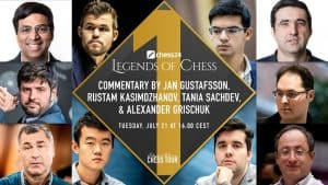 chess24 Legends of Chess Players