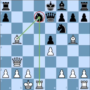 The Opera Game Morphy Pins the Knight