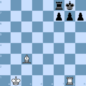 Checkmate Pattern Morphy's Mate