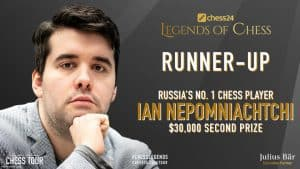 chess24 Legends of Chess Runner-up