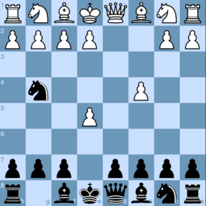 Budapest Gambit 3 ...Ng4