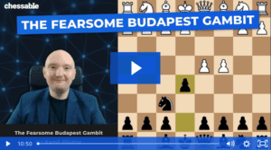 Chessable Budapest Gambit Course