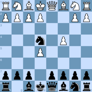 Budapest Gambit Fajarowicz Variation