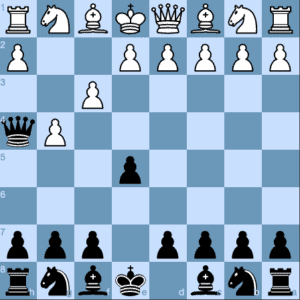 Checkmate on the Second Move