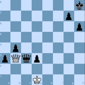 Queen sacrifice for Stalemate