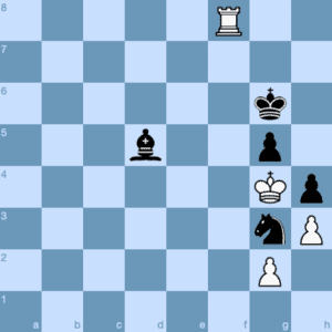 Endgame Stalemate Startling Chess Tactic