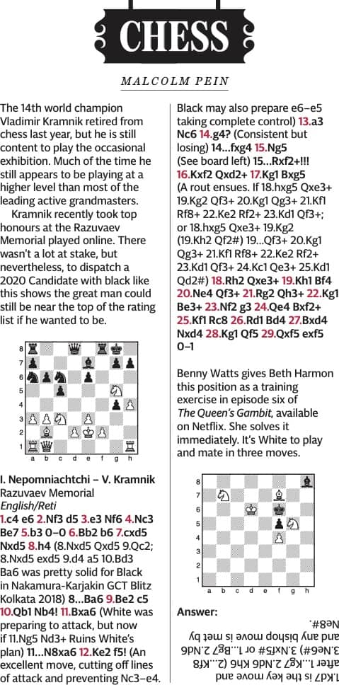 The Return of Kramnik