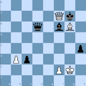 So Chasing Carlsen's King