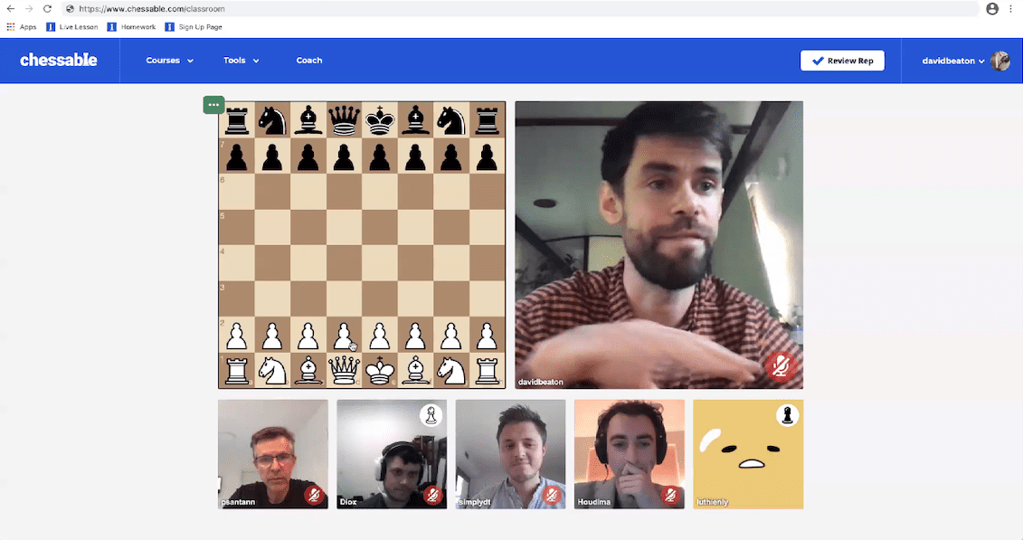 Chessable in Action at ChessTech2020