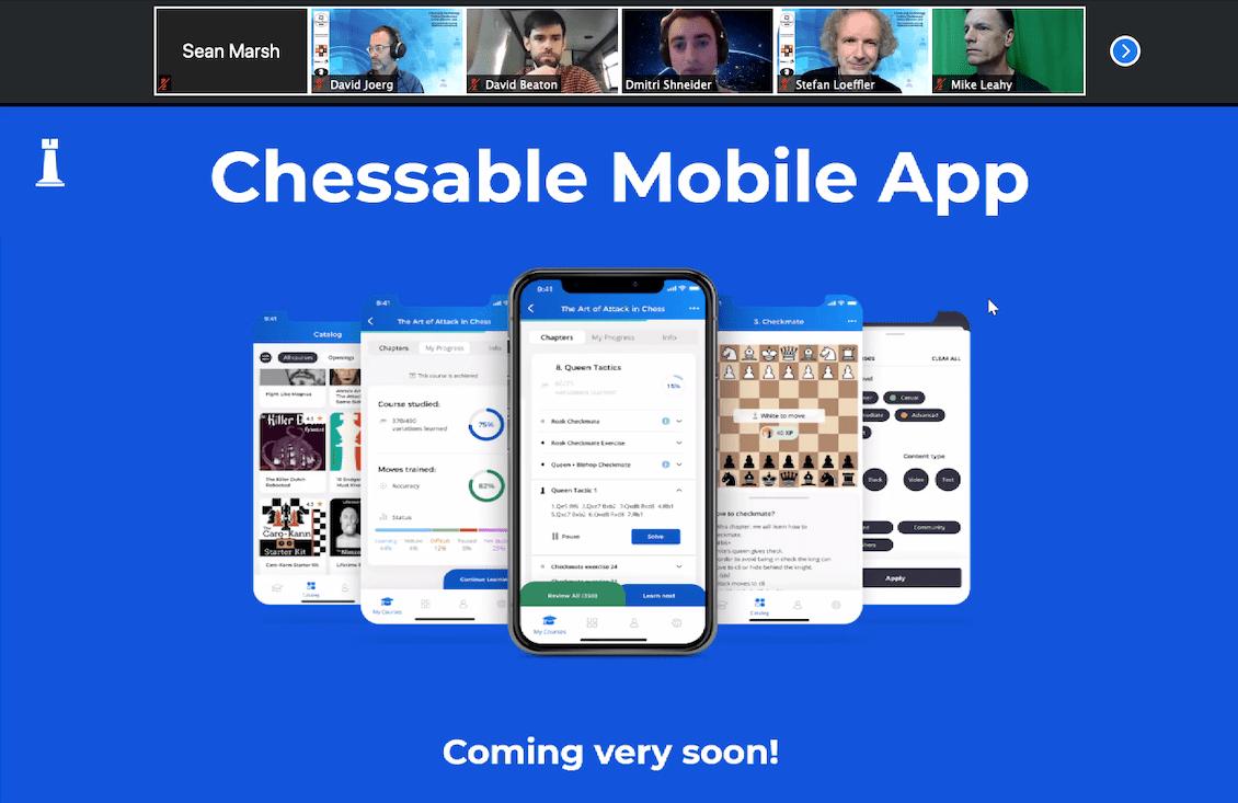 Chessable Mobile App