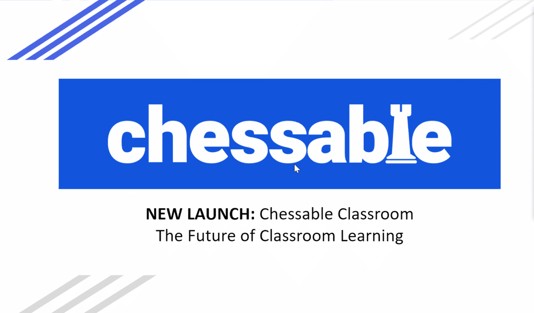 Chessable at ChessTech2020