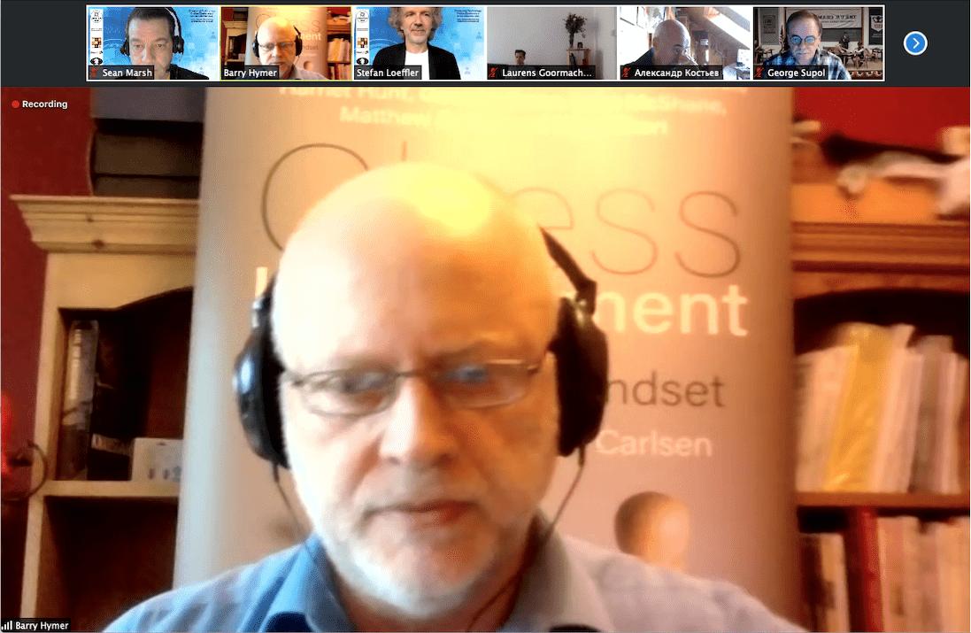 Professor Barry Hymer Presenting at ChessTech2020