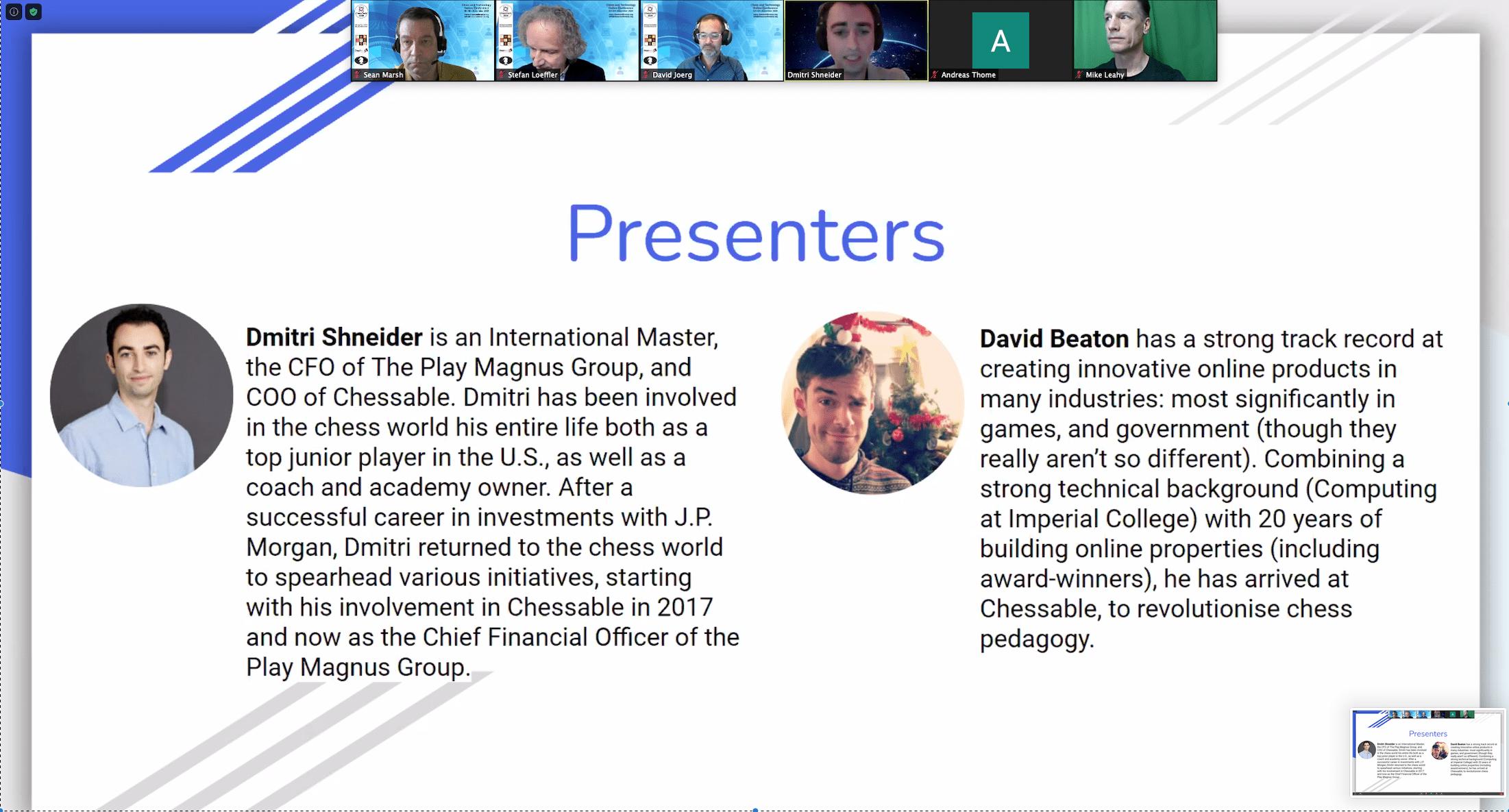 Chessable Presenters