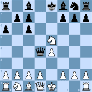 Ruy Lopez Exchange Variation Black Wins Back the Pawn