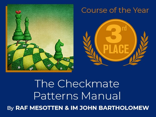 Chessable Awards Course of the Year Third Place