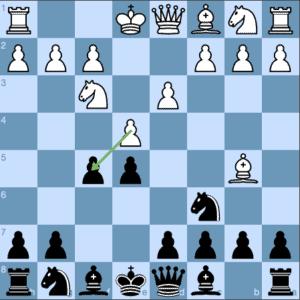 Jaenisch Gambit 4 d3