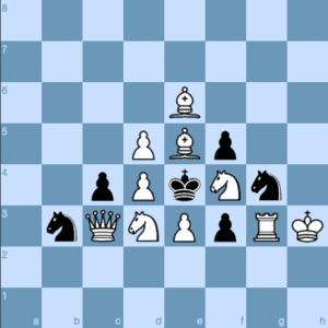 Christmas Tree Chess Problem