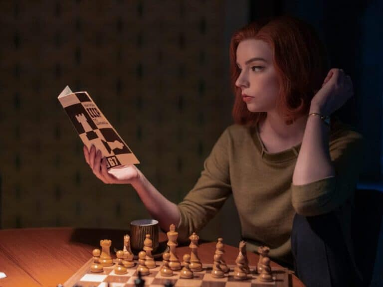 Beth Harmon in Netflix's The Queen's Gambit