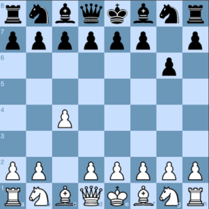 The Iron English 1 c4 g6