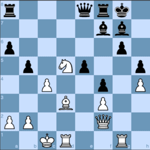 The English Opening Black Misses a Chance