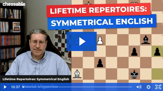 Lifetime Repertoires: Symmetrical English