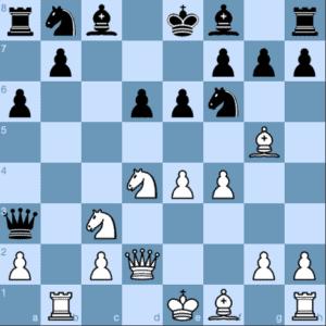 Poisoned Pawn Variation 9...Qa3