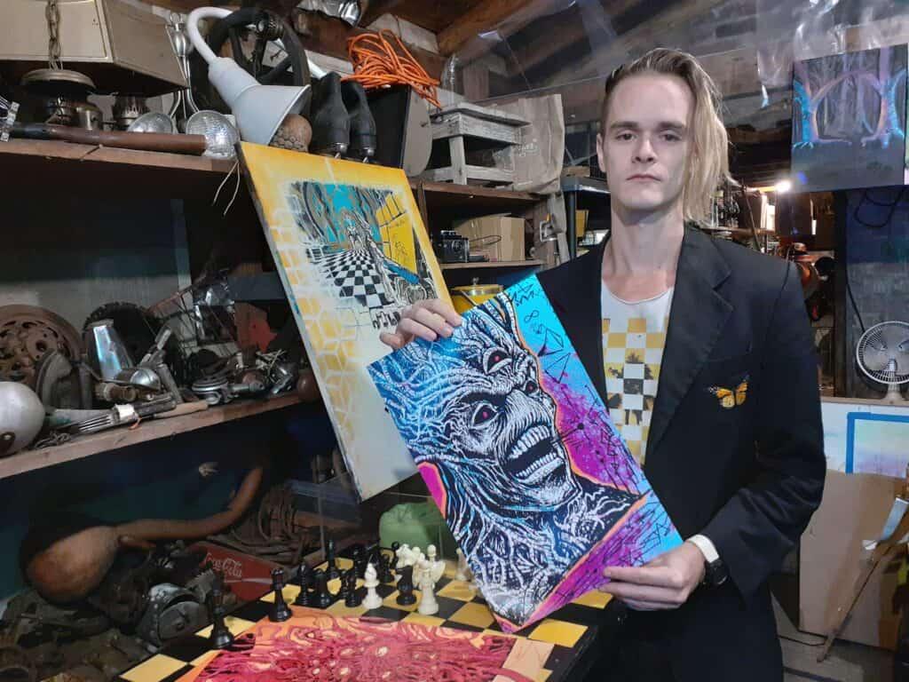 Adam Ledford and his Artwork