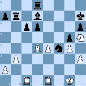 Chessable White Rose Maaike In Action