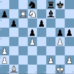 David Mooney Winning Chess Tactic at the 4NCL Semi-final