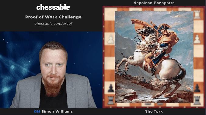 Proof of Work Challenge: Napoleon vs. The Turk