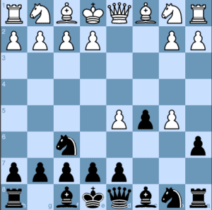 Black Offers a Second Pawn