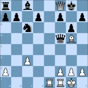 Queen Sacrifice for Checkmate