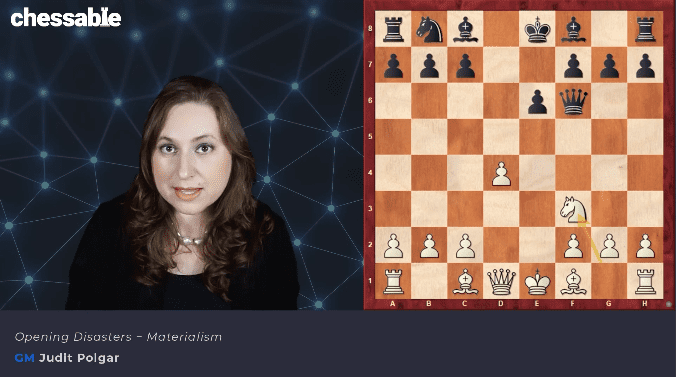 Master Your Chess With Judit Polgar Part 1: Opening Disasters