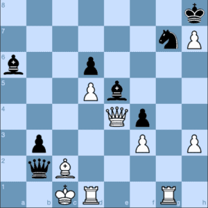 King's Indian Checkmates: Checkmate in One Move