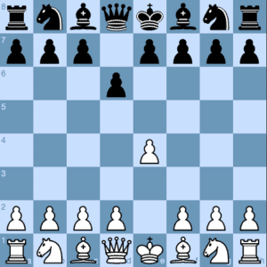 1.e4 d6