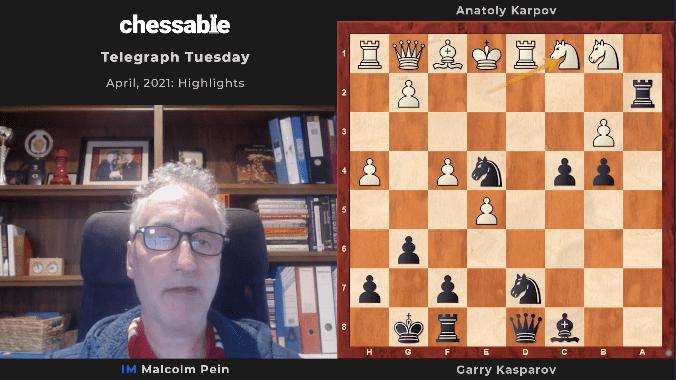 Malcolm Pein's Telegraph Tuesday Videos: April 2021