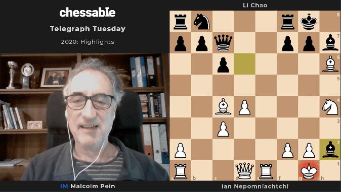 Malcolm Pein's Telegraph Tuesday Videos: March 2021