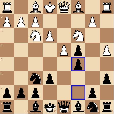 Vienna pawn break