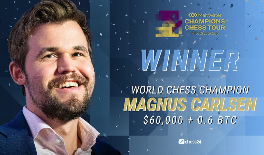 Magnus Carlsen - Winner of the FTX Crypto Cup