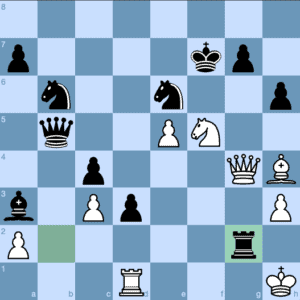 I. Nepomniachtchi – A. Korobov White to Play and Force Checkmate