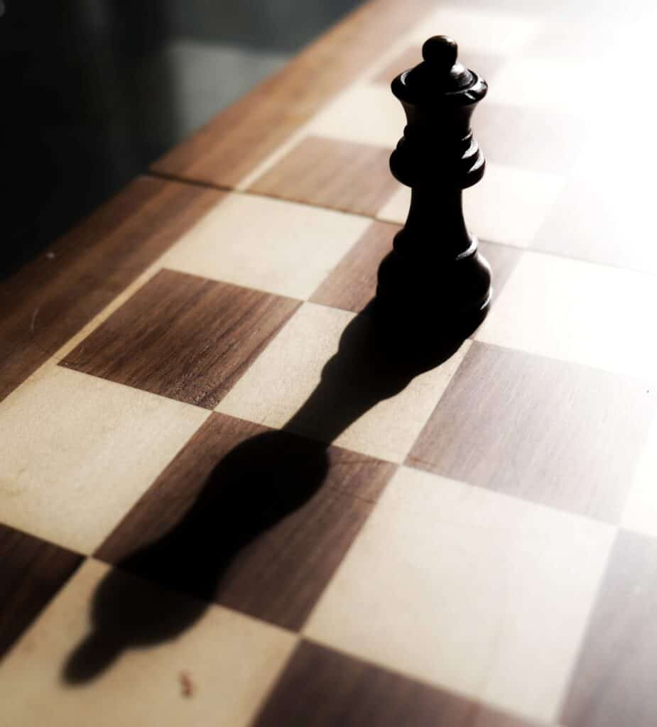 Long Chess Shadow